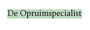 logo De Opruimspecialist